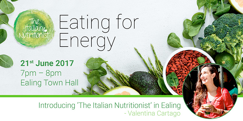 Eating for Energy – with 'The Italian Nutritionist'